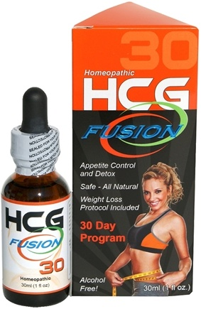 DROPPED: Fusion Diet Systems - HCG Fusion 30 Day Program Homeopathic Professional Grade HCG - 1 oz. CLEARANCE PRICED