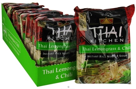 DROPPED: Thai Kitchen - Instant Rice Noodle Soup Thai Lemongrass & Chili without I&G - 1.6 oz.