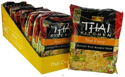 DROPPED: Thai Kitchen - Instant Rice Noodle Soup Thai Curry without I&G - 1.6 oz.