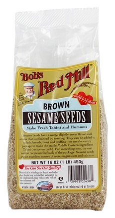 Zoom View - Sesame Seeds Brown