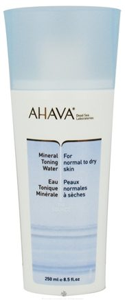 DROPPED: AHAVA - The Source Mineral Toning Water For Normal To Dry Skin - 8.5 oz. CLEARANCE PRICED