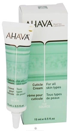 DROPPED: AHAVA - The Source Cuticle Cream For All Skin Types - 0.5 oz. CLEARANCE PRICED