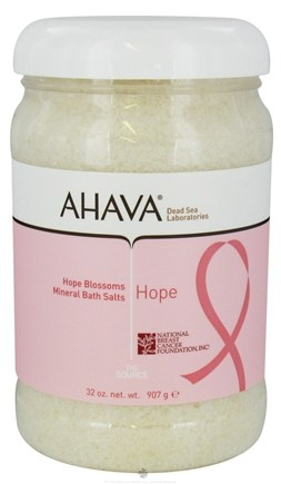 DROPPED: AHAVA - The Source Mineral Bath Salts Hope Blossom - 32 oz. CLEARANCE PRICED