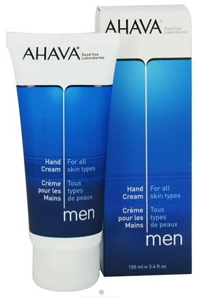 DROPPED: AHAVA - Men Hand Cream For All Skin Types - 3.4 oz. CLEARANCE PRICED