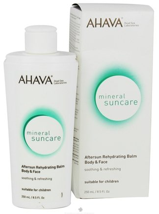 DROPPED: AHAVA - Mineral Suncare Aftersun Rehydrating Balm Body & Face - 8.5 oz. CLEARANCE PRICED