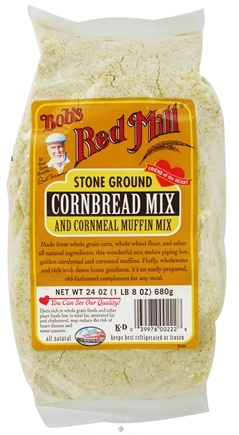DROPPED: Bob's Red Mill - Cornbread & Cornmeal Muffin Mix - 24 oz. CLEARANCE PRICED