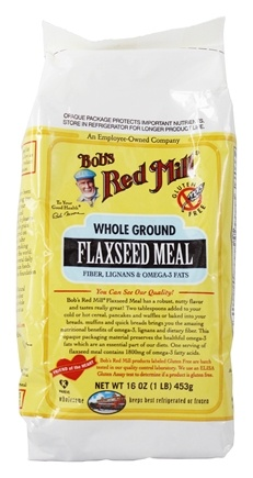 Zoom View - Flaxseed Meal Whole Ground Gluten Free