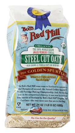 Bob's Red Mill - Organic Steel Cut Oats - 24 oz.