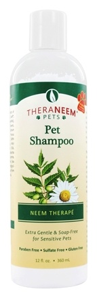 Zoom View - TheraNeem Organix Pet Shampoo For Sentivive Pets