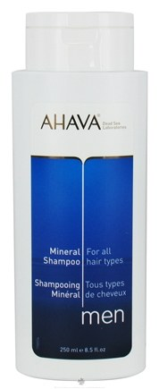DROPPED: AHAVA - Men Mineral Shampoo For All Hair Types - 8.5 oz. CLEARANCE PRICED