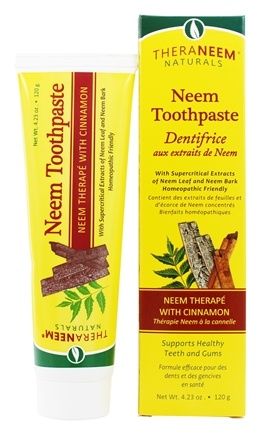 Organix South - TheraNeem Organix Toothpaste Cinnamon - 4.23 oz.