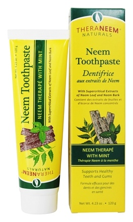 Zoom View - TheraNeem Organix Toothpaste Neem Therape