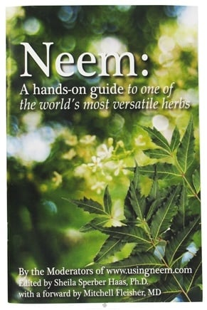 DROPPED: Organix South - Neem: A Hands-On Guide To One Of The World's Most Versatile Herbs Book - CLEARANCE PRICED