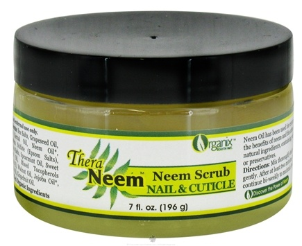 DROPPED: Organix South - TheraNeem Organix Neem Scrub Nail & Cuticle - 7 oz. CLEARANCE PRICED