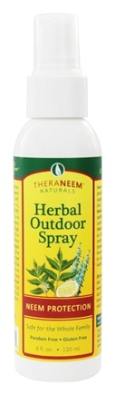 DROPPED: Organix South - TheraNeem Organix Herbal Outdoor Spray Neem Protection - 4 oz.
