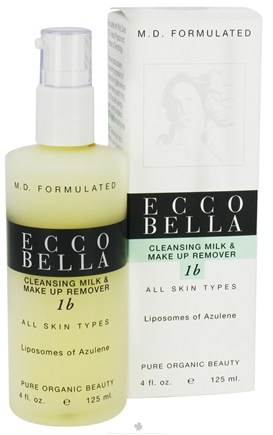 DROPPED: Ecco Bella - Cleansing Milk & Make Up Remover For All Skin Types - 4 oz.