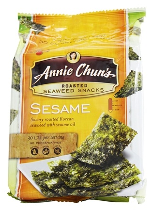 Annie Chun's - Seaweed Snacks Roasted Sesame - 0.35 oz.