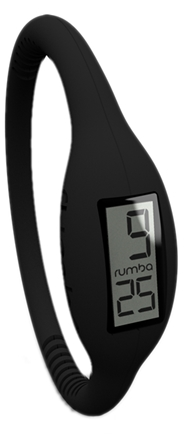 DROPPED: RumbaTime - Watch Original Collection Medium Lights Out Black