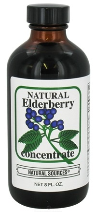 DROPPED: Natural Sources - Natural Elderberry Concentrate - 8 oz. CLEARANCE PRICED