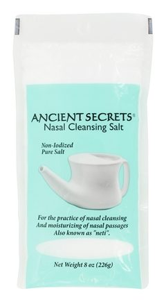 Zoom View - Nasal Cleansing Salt Bag