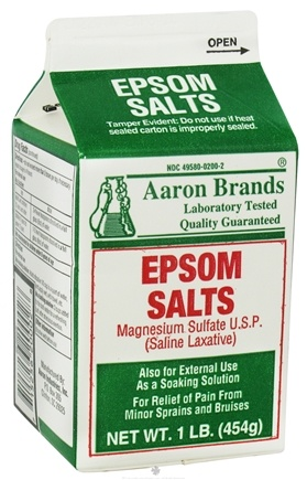 DROPPED: Aaron Industries - Epsom Salts Magnesium Sulfate - 1 lb.