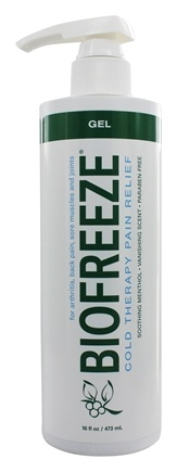DROPPED: BioFreeze - Pain Relieving Gel with Pump - 16 oz.