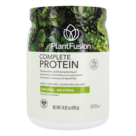 PlantFusion - Complete Plant Protein Natural - 1 lb.