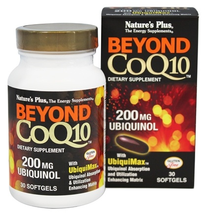 DROPPED: Nature's Plus - Beyond CoQ10 Ubiquinol 200 mg. - 30 Softgels
