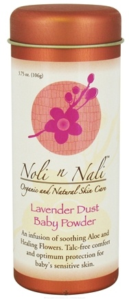 DROPPED: Noli n Nali Organics - Baby Powder Lavender Dust - 3.75 oz.