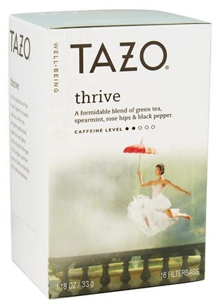 DROPPED: Tazo - Well-Being Tea Thrive - 16 Tea Bags