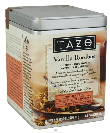 DROPPED: Tazo - Herbal Infusion Full Leaf Tea Vanilla Rooibos - 15 Bags