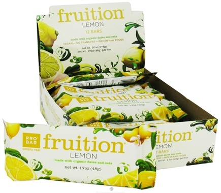 DROPPED: Pro Bar - Fruition Bar Lemon - 1.7 oz.
