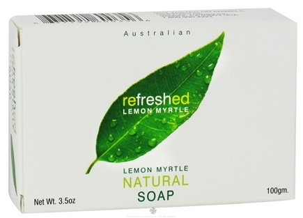 DROPPED: Tea Tree Therapy - Natural Australian Bar Soap Refreshed Lemon Myrtle - 3.5 oz. CLEARANCE PRICED