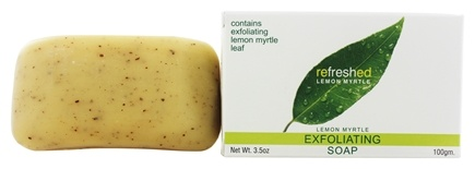 Tea Tree Therapy - Natural Australian Bar Soap Refreshed Exfoliating Lemon Myrtle - 3.5 oz.