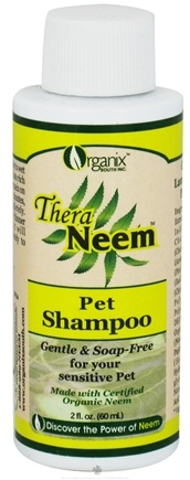 DROPPED: Organix South - TheraNeem Organix Pet Shampoo Travel Size - 2 oz.