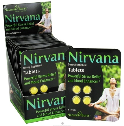 DROPPED: Neutralean - Nirvana Powerful Stress Relief and Mood Enhancer - 4 Tablets (Formerly Natural Burst)/ CLEARANCE PRICED