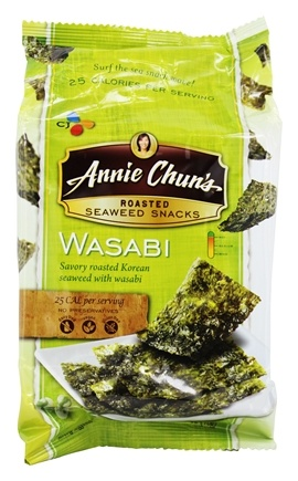 Annie Chun's - Seaweed Snacks Roasted Wasabi - 0.35 oz.