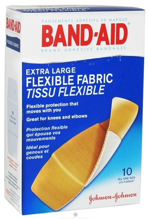 Zoom View - Band-Aid Adhesive Bandage Flexible Fabric Extra Large All One Size