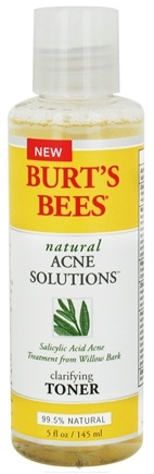 DROPPED: Burt's Bees - Natural Acne Solutions Clarifying Toner - 5 oz.
