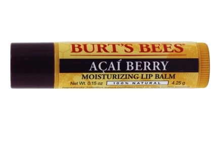 Burt's Bees - Lip Balm Rejuvenating Acai Berry - 0.15 oz.