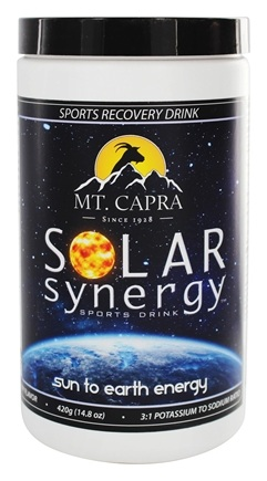 DROPPED: Mt. Capra Products - Solar Synergy Sports Drink Berry Flavor - 14.8 oz.