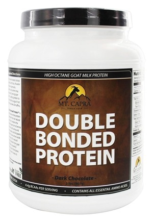 Mt. Capra Products - Double Bonded Goat Milk Protein Chocolate - 2 lbs.