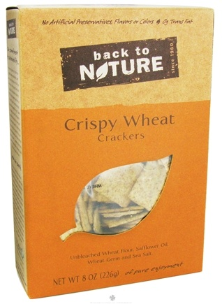 DROPPED: Back To Nature - Crackers Crispy Wheat - 8 oz.