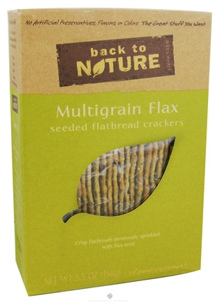 Zoom View - Crackers Multigrain Flax Seeded Flatbread