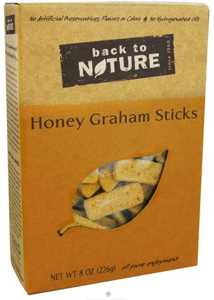 DROPPED: Back To Nature - Graham Sticks Honey - 8 oz. CLEARANCE PRICED