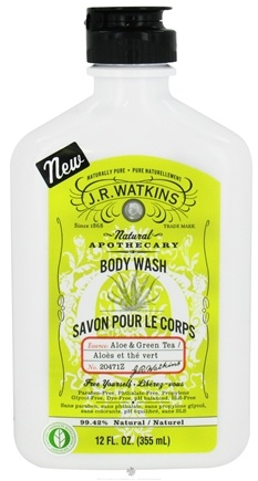 DROPPED: JR Watkins - Naturals Apothecary Body Wash Aloe & Green Tea - 12 oz.