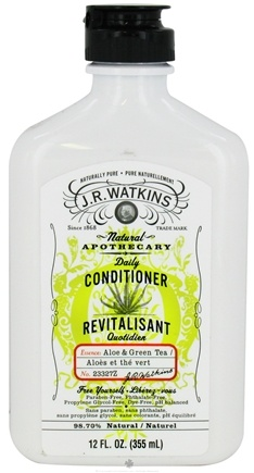 DROPPED: JR Watkins - Natural Apothecary Daily Conditioner Aloe & Green Tea - 12 oz. CLEARANCE PRICED