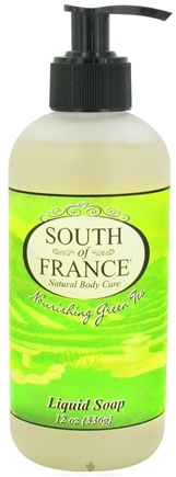 DROPPED: South of France - Liquid Soap Nourishing Green Tea - 12 oz.
