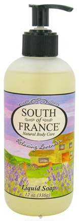 DROPPED: South of France - Liquid Soap Relaxing Lavender - 12 oz.