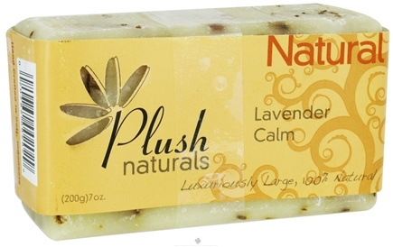 DROPPED: Plush Naturals - Bar Soap Lavender Calm - 7 oz. CLEARANCE PRICED